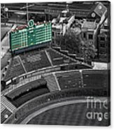 Wrigley Field Chicago Sports 04 Selective Coloring Acrylic Print