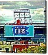 Wrigley Field Chicago Cubs Acrylic Print