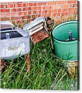 Wringer Washer And Laundry Tub Acrylic Print