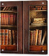 Writer - Books - The Book Cabinet  Acrylic Print