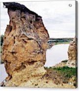 Writing-on-stone Provincial Parks Acrylic Print