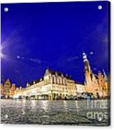 Wroclaw Poland Historical Market Square And The Town Hall Acrylic Print