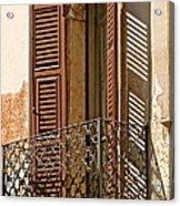 Wrong Balcony Romeo Acrylic Print