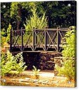 Wrought Iron Bridge Acrylic Print