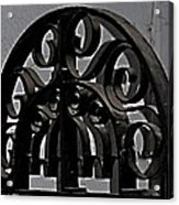 Wrought Iron Acrylic Print