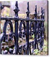 Wrought Iron Fence 1 Acrylic Print