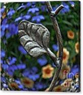 Wrought Iron Garden Acrylic Print