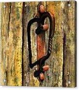 Wrought Iron Handle Acrylic Print