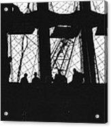 Wtc Dark Shadows Acrylic Print