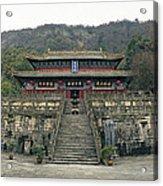Wudangshan - Zhishaodian Acrylic Print
