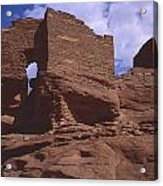 Wukoki Ruin 1 Acrylic Print