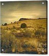 Wupatki National Monument-bench Acrylic Print