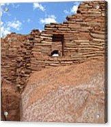 Wupatki Pueblo Ruin Acrylic Print