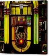 Wurlitzer 1946 Jukebox - Featured In Comfortable Art Group Acrylic Print