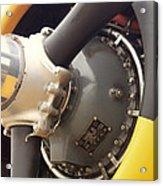 Ww II Airplane Engine Acrylic Print