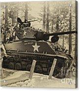 Ww II Battle Of The Bulge 02 Acrylic Print