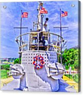 Ww II Submarine Memorial Acrylic Print