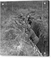 Wwi Black Troops, 1918 Acrylic Print