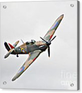 Wwii Fighter Plane The Hurricane Acrylic Print