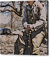 Wwii Soldier Two Acrylic Print