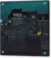 Wyck By Night Acrylic Print by Nop Briex
