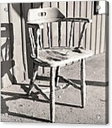 Wylie's Chair Acrylic Print