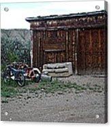 Wyoming Backroads Acrylic Print