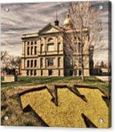 Wyoming Capitol Building Acrylic Print