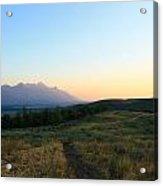 Wyoming Landscapes Acrylic Print