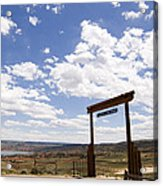 Wyoming Ranch Acrylic Print