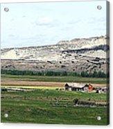 Wyoming Ranch Acrylic Print