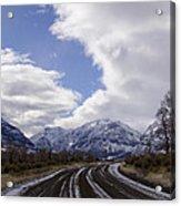 Wyoming Road Acrylic Print
