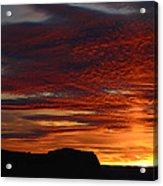 Wyoming Sunset #1 Acrylic Print
