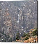 Wyoming Waterfall Acrylic Print