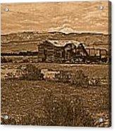 Wyoming West Acrylic Print