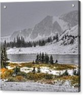 Wyoming's Medicine Bow National Forest Acrylic Print