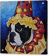 Wyze Clown Acrylic Print