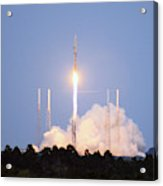 X-37b Orbital Test Vehicle Lifts Off Acrylic Print