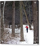 X-country Mendon Ponds Acrylic Print