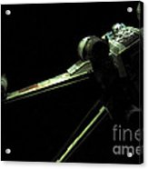 X-wing Fighter Acrylic Print by Micah May