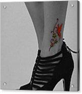 Xim Tattoo Acrylic Print
