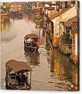 Xitang Canal Acrylic Print