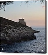 Xlendi At Sunset Acrylic Print