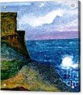 Xlendi Tower - Gozo Acrylic Print
