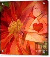 Xmas Angel Acrylic Print