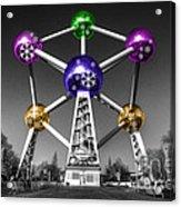 Xmas Atomium  Acrylic Print