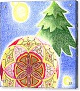 X'mas Ornament Acrylic Print