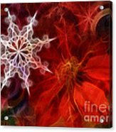 Xmas Stars Acrylic Print by Lutz Baar