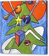 Xmas Tree I Acrylic Print