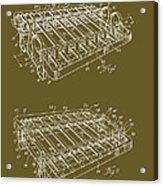 Xylophone Patent 1949 Acrylic Print